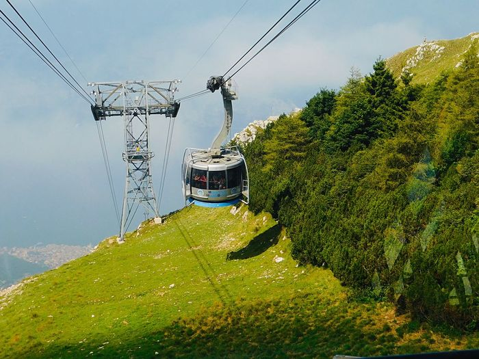Cable car to
