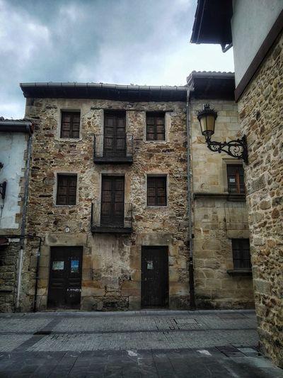 Elorrio Euskadi Window Façade Door Sky Architecture Building Exterior Built Structure