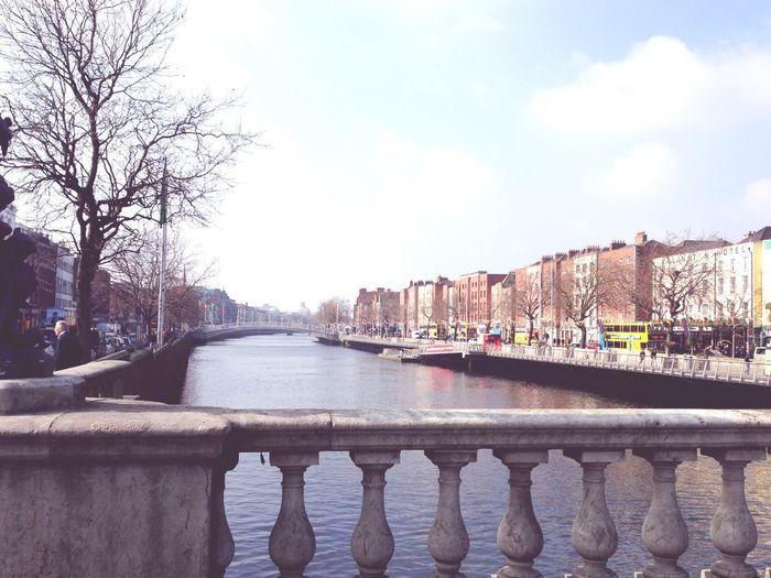 Dublin Bridge Ireland Liffey Taking Photos Enjoying Life On A Trip Traveling Europe Hello World