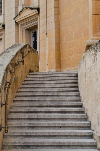 MOSTA, MALTA ,15 DECEMBER 2018 - Mosta Dome Cathedral ( St. Mary church) The Parish Church of Assumption under the blue sky , rotunda square Mosta Dome Mostar Malta Church St. Mary Rotunda Rotunda Dome Bell Parish Church Religion Architecture