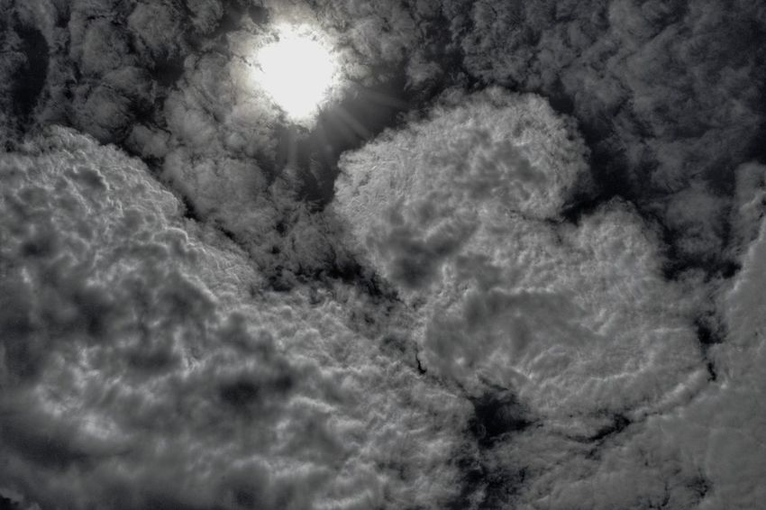 Abstract Clouds 3 on 15 Nov 17. Nature Sky Sun Clouds And Sky Cloudscape Beauty In Nature Day Black And White Nawfal Johnson Pattern Penang, Malaysia Dark Tone Patterns