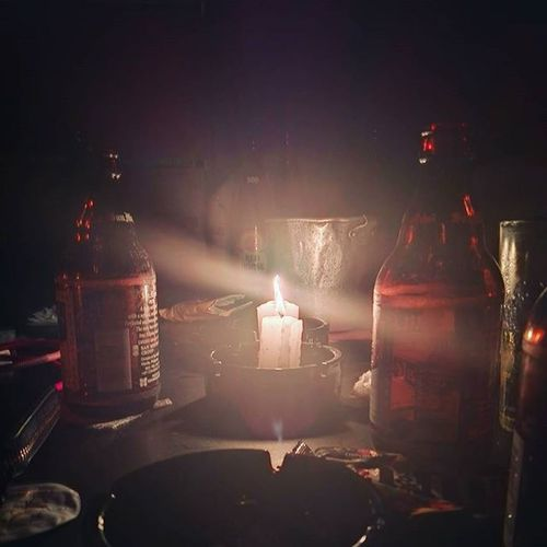 Power is out. All you have to do is grab a bottle of beer and make worthy conversations. Brownout