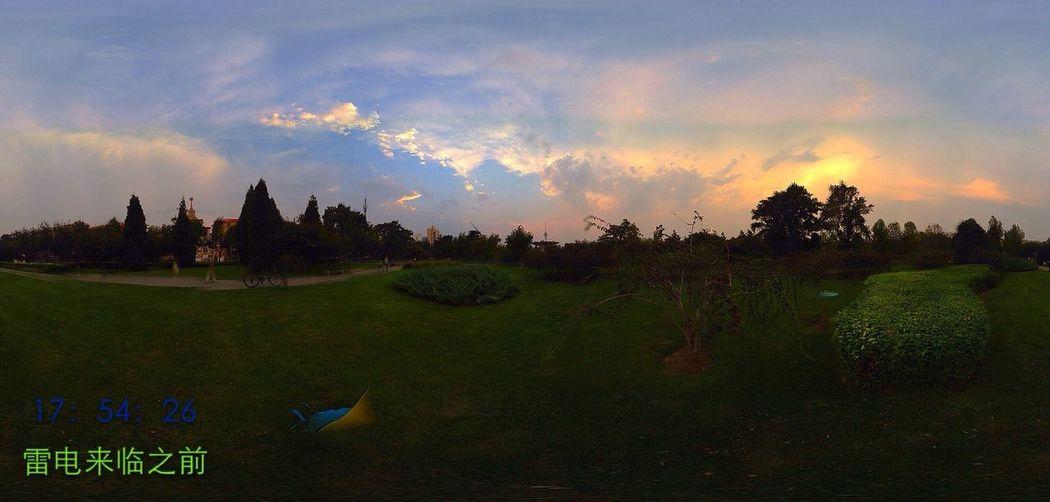 360全景看云空