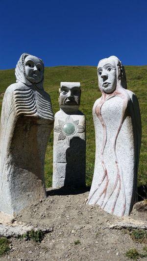 Statue Queyras