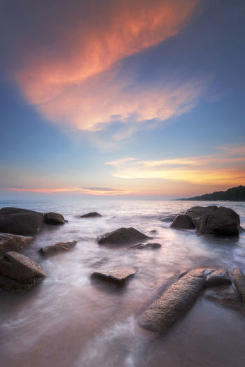 Sea Water Sky