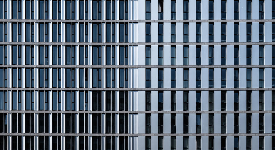 Architecture No People Day Full Frame Built Structure Pattern Building Exterior Building Backgrounds Office Building Exterior Modern Reflection City Office Window Repetition Design