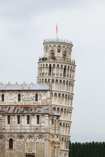 View Of Leaning Tower Of Pisa