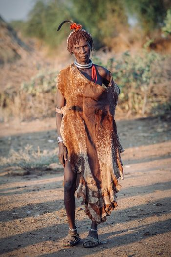 African Beauty Hamertribe Hamerwoman Old Age African Portrait Of A Woman African Village Portraits Africa Omovalley Omo Valley Travel Destinations Travel Ethiopian Photography 🇪🇹 Ethiopia Portrait Photography Ethiopian Mammal One Animal Domestic Animals Domestic Pets Vertebrate Day Outdoors Full Length Standing Clothing
