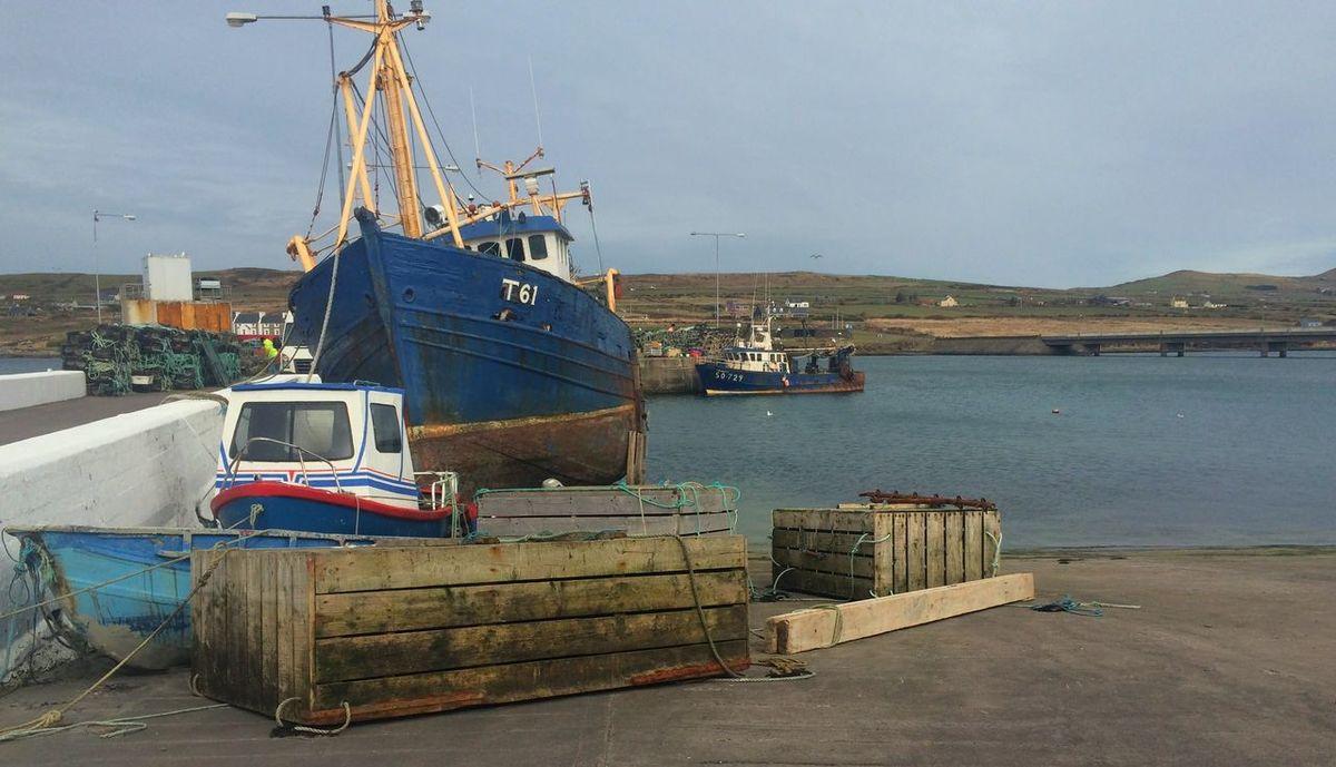 Boats Fishing Village Ireland Portmagee