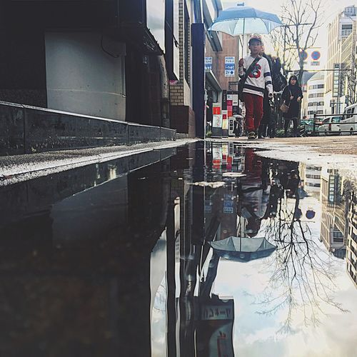 Puddle. City