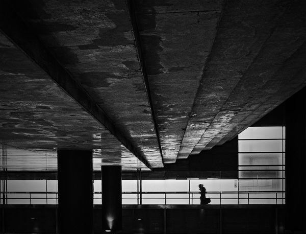 Monochrome Blackandwhite Architecture Urban Geometry