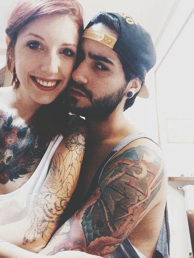 Tattooed Models Tattooed Girl Tattooedmen Tattooedcouple Street Fashion