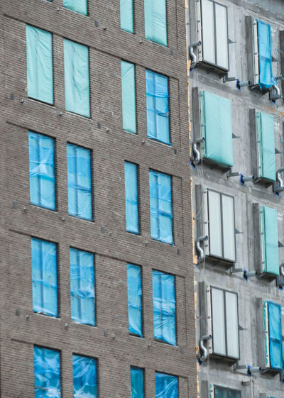 Backgrounds Full Frame Window Architecture Building Exterior Built Structure Building Construction Incomplete