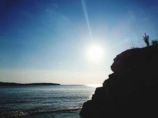 Kerpe Sun Sunset Sea Sea And Sky