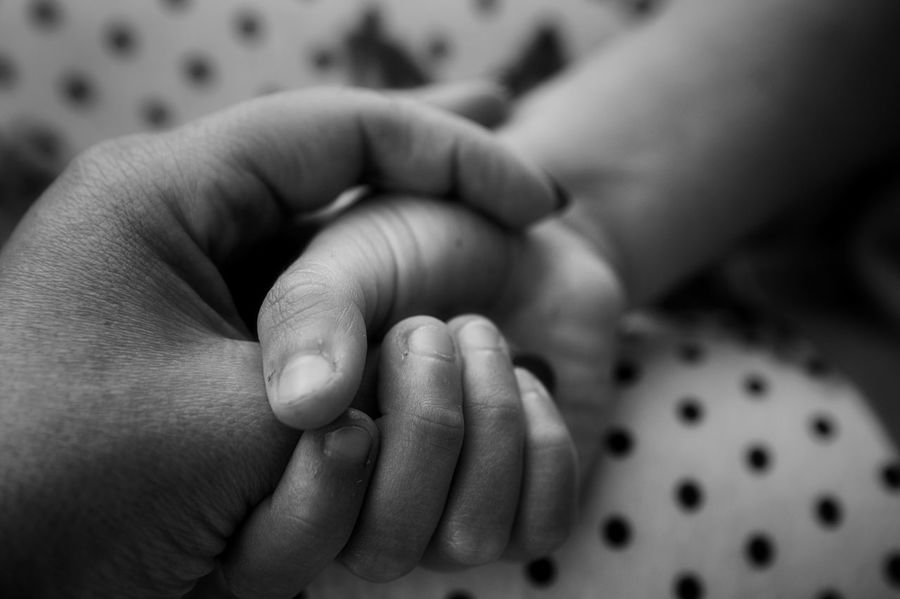 Baby Togetherness Human Hand Family With One Child Human Body Part Family Bonding Love Human Finger Care Childhood Mother Fragility Close-up BW_photography Blackandwhite Photography Black & White Canon EyeEm Hands Eye4photography  Getting Inspired EyeEm Gallery Bw_collection Blackandwhite