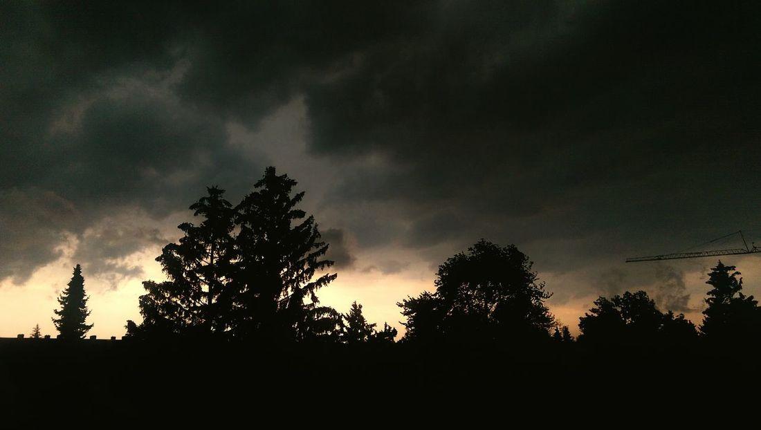 Ruhe Vor Dem Sturm Taking Photos Check This Out Sunset In My Hood der Blick aus der Dunkelheit ins Licht. Leider nicht optimal von mir eingefangen aber ich habe mir mühe gegeben. Es war wunderschön 😊