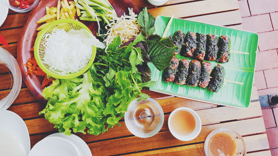 Awesome beef rice paper wraps from the weekend Vietnamese Food