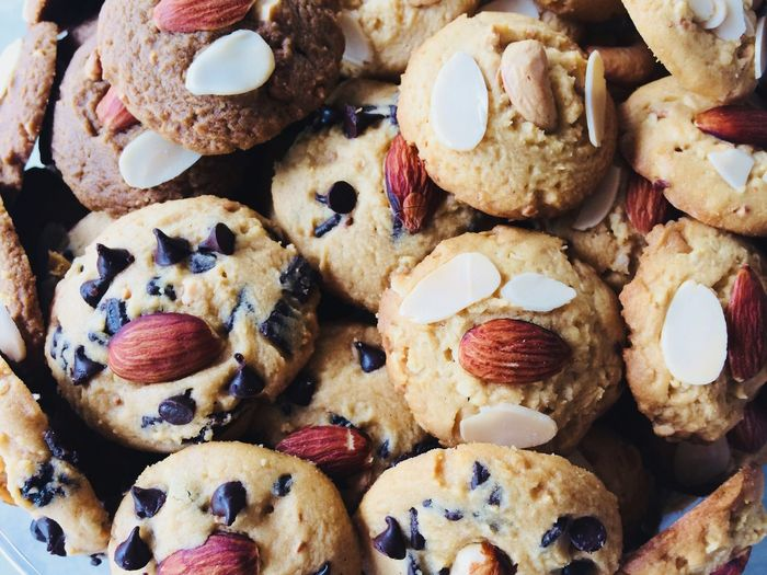 Cookies 🍪 Cookies Food And Drink Food Sweet Food Indulgence Temptation Full Frame No People Dessert Raisin Backgrounds Close-up Dried Fruit