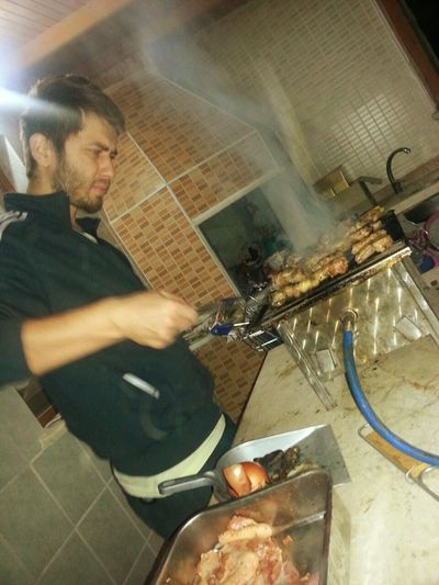 Capture The Moment Chickens Meatballs Meat! Meat! Meat! Dinner Barbecue Mangal Barbeku ızgara