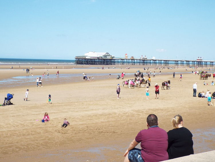 People And Places Enjoying The Sun Sea The Street Photographer - 2016 EyeEm Awards Beachphotography Beach Photography People On The Beach People Around You People The Essence Of Summer Summertime Summer 2016 Sand Tourist Attraction  Tourism Tourists Donkeys Donkey Rides Playing In The Sand Blue Sky People Watching Blackpool North Pier North Pier The Great Outdoors - 2016 EyeEm Awards People Of The Oceans Miles Away