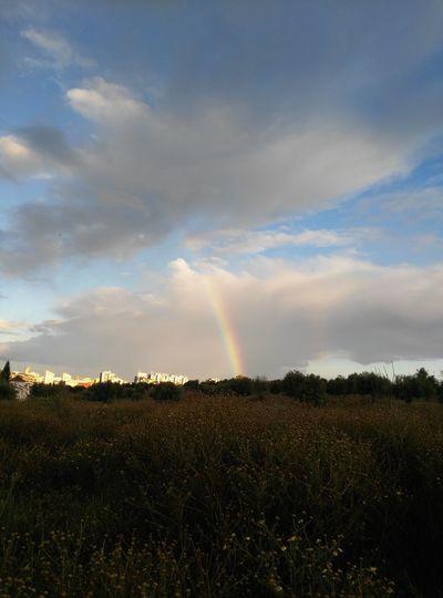 Arco Iris... camino al cielo