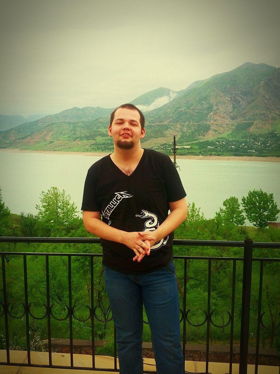 That's Me Hi! Enjoying Life Lake Water Nature Mountain Traveling Hello World Taking Photos