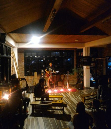 A night of music Music Musician Live Music Band Kohima Hills Evening Of Music Guitar Guitarist