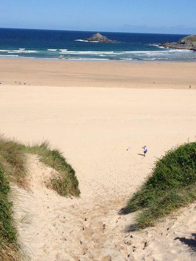 Beach Crantock Sea Summer Cornwall Sand Beach Beach Photography Beach Life On The Beach