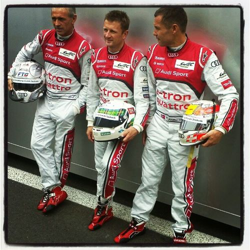 The Big 3 #WEC #Spa6hours #Audi Audi Wec Spa6hours