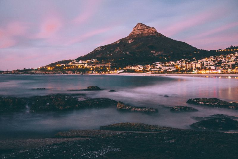 lions head. EyeEmbestshots Eyemphotography EyeEm EyeEm Nature Lover Eye4photography  Fire Sea And Sky Moutains Clouds Clouds And Sky Sunset Canon Canonphotography EyeEm Gallery EyeEmBestPics EyeEm Best Shots Showcase: January Southafrica Capetown Water