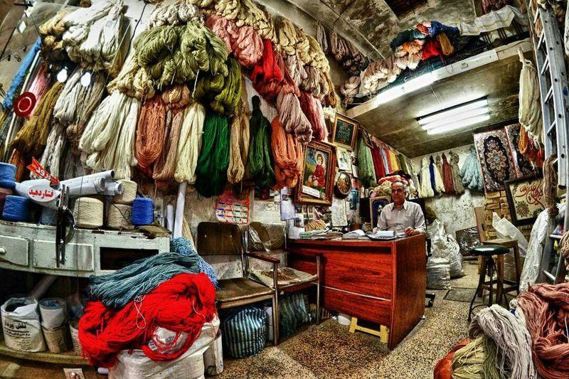ایران کاشان Iran,kashan Bazar بازار