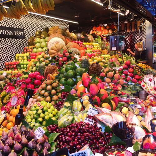 Colours!!! Fruit Market