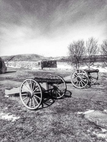 Cannons Artillery Historical Sights Black & White OpenEdit Iphoneonly StreamzooVille Massachusetts IPhoneography Blackandwhite Photography