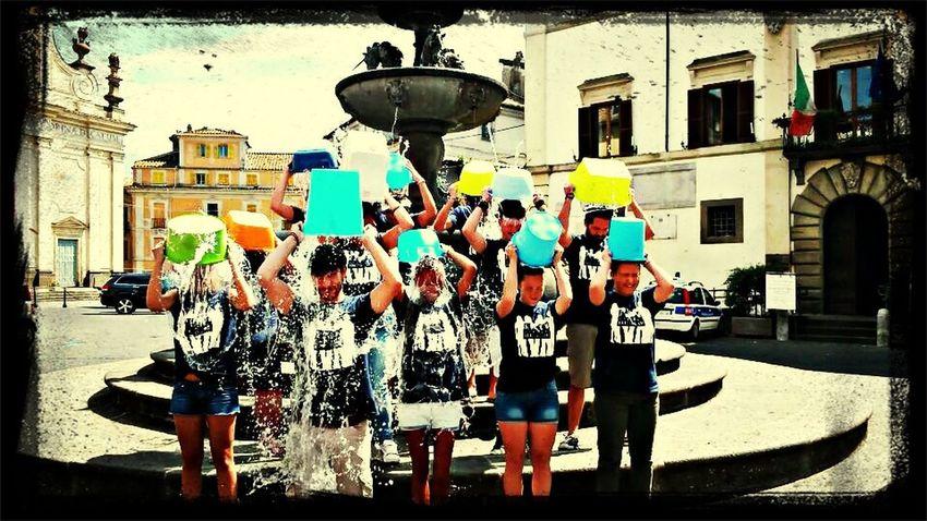 Icebucketchallenge Forumgiovanironciglione 😉✌️