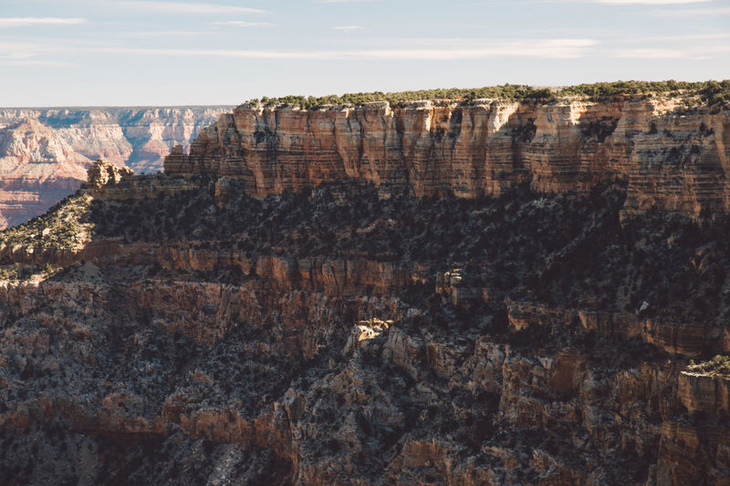 Arid Climate Arid Landscape Arizona Beauty In Nature Canyon Cliff Day Geology Grand Canyon Grand Canyon National Park Nature No People Outdoors Physical Geography Rock - Object Rock Formation Rock Formation Scenics Sky Sunrise Tourist Attraction  Tourist Destination