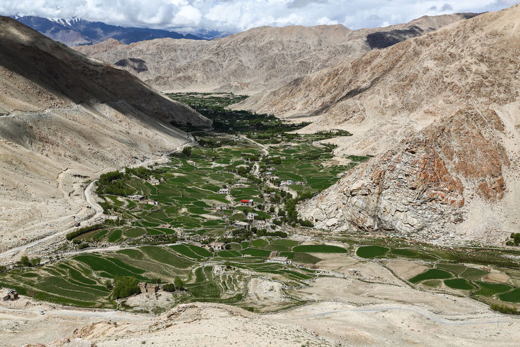 Ladakh Travel Photography Travelogue Beauty In Nature Cloud - Sky Day Himalaya Landscape Mountain Mountain Range Mountain Road Nature No People Outdoors Physical Geography Road Rock - Object Scenics Sky Tibetan  Tranquil Scene Tranquility Travel Destinations Water Winding Road
