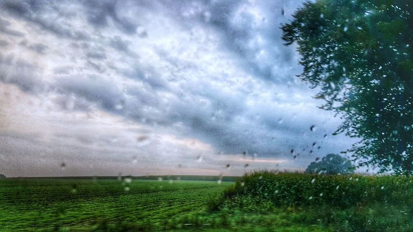 Wake me up, when it is summer..! 😮 💧 Rainy Days Agriculture Cloud - Sky Field Growth Nature Grass Beauty In Nature Outdoors Sky Rural Scene Scenics Tree Freshness Water EyeEm Nature Lover Lost In The Landscape Rain View Out Of The Window Drop Weather Drops
