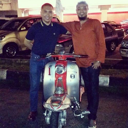Lambretta Li1 Skinhead Johor paritraja kluang malaysianskinhead drmartens fredperry