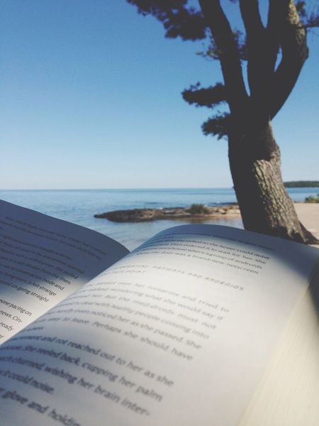 Reading on the beach, vaca has officially began. Beach Reading Vacation Traveling