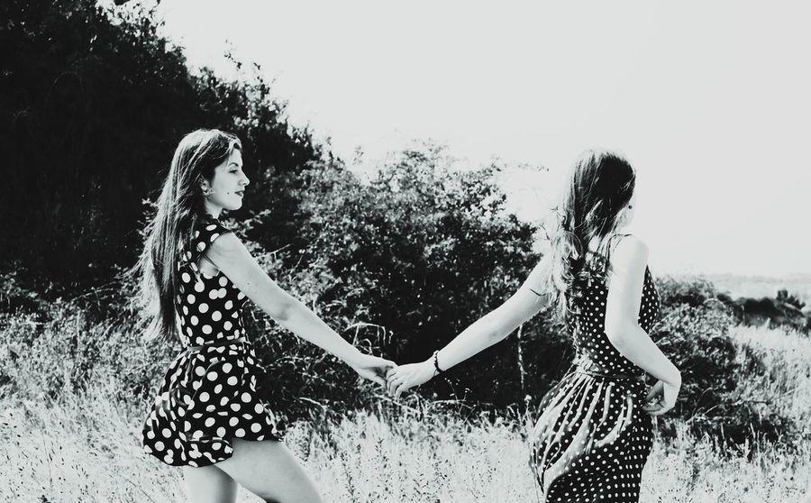 Sisters Sisterhood Photoshoot Photography Monochrome Black And White