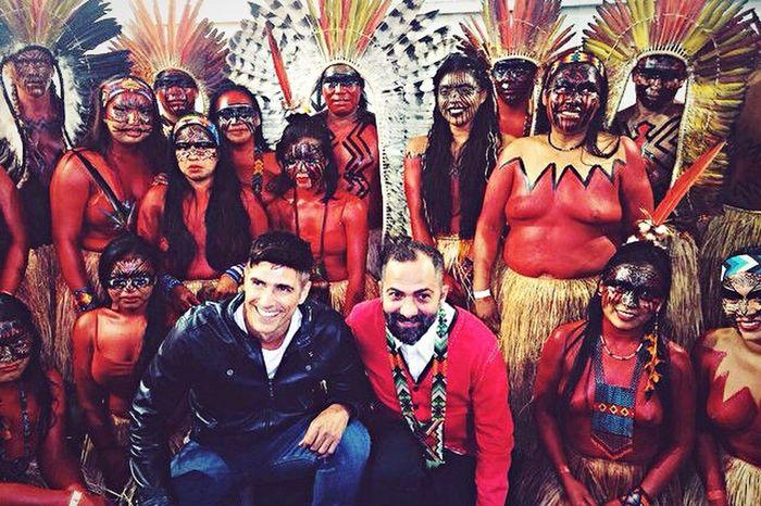 Reinaldo Gianechini na Aldeia Yawanawá. Brazil Indios Amazonas-Brasil 🇧🇷 Cavalera Acre