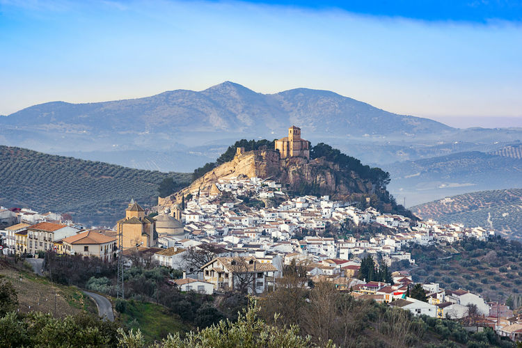 Montefrio, town in the province of granada, spain