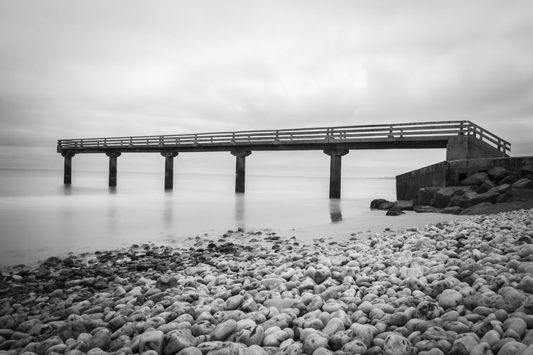 normandy, france 🇫🇷 Sea Long Exposure EyeEmSwiss Blackandwhite Black & White Black And White Bw_collection