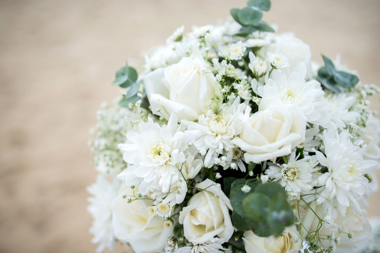 Beauty In Nature Bouquet Celebration Close-up Event Flower Flower Arrangement Flower Head Flowering Plant Focus On Foreground Fragility Freshness Inflorescence Nature Petal Plant Vulnerability  Wedding White Color