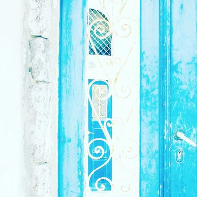 Built Structure Outdoors Architecture Close-up Bluedoor Blues GREECE ♥♥