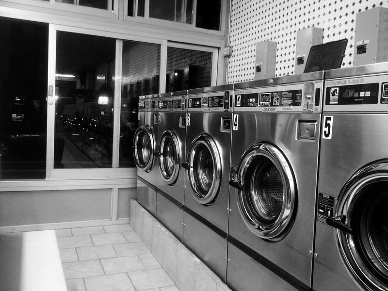 Day5 and FINAL day of FiveDayBlackAndWhiteChallenge This one is laundry time inna Eastvillage FirstAve NYC NYC Photography