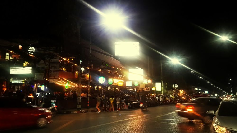 Life style Enjoying Life Poy's Hanging Out Relaxing Nightlights Nimmanhaeminroad Chiang Mai | Thailand