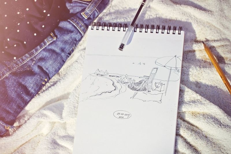 drawing and