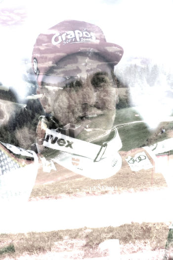 Hahnenkamm Multiple Image Layering In A Single Photographic Shot Multiple Exposure Representation Digital Composite