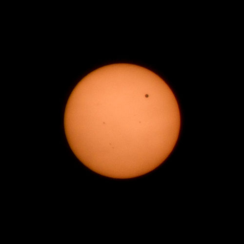 Venus Transit viewed from Nevada, IA Nature Space Star Venus Venus Transit Planet Sunspots Sun